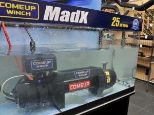 Опускаем на месяц в аквариум лебедку ComeUp MadX