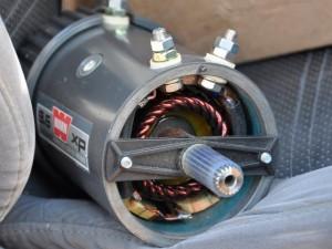 Двигатели для электролебедок