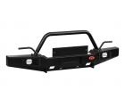 Бампер OJ передний серии Трофи на УАЗ Хантер со съемной трапециевидной дугой
