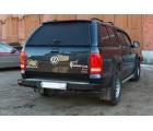 Бампер OJ задний серии Трофи на Volkswagen Amarok