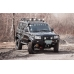 Бампер OJ передний серии Трофи на УАЗ Патриот/Пикап (рестайлинг 2014) с кенгурином и доп.оборудованием