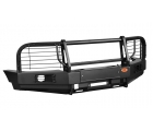 Бампер OJ передний серии Трофи на УАЗ Патриот/Пикап с кенгурином и доп.оборудованием