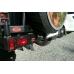 Бампер OJ задний серии Трофи на УАЗ Хантер универсальной калиткой