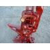 Домкрат реечный HI-LIFT HL-605 (RED), чугун, 152 см