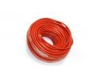 Медный провод сечением 25 квадратных мм (красная изоляция)