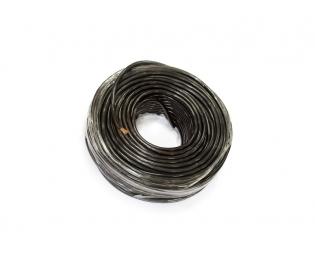 Медный провод сечением 25 квадратных мм (черная изоляция)