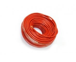 Медный провод сечением 32 квадратных мм (красная изоляция)