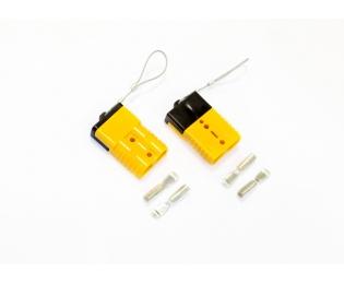 Электрический разъем под ток до 500А для подключения выносных автомобильных лебедок