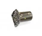 Электромотор в сборе с боковиной для лебедки Стократ SD 9.5 SW24