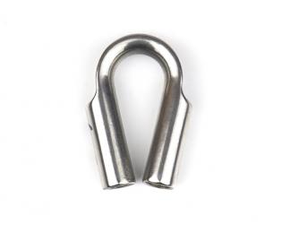 Коуш для троса диаметр 10-11 мм