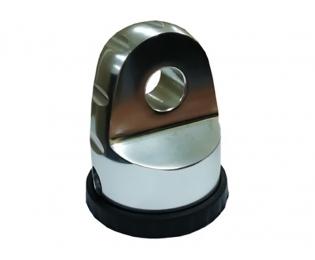 Шакл взамен крюка на трос лебедки (аналог Factor 55 ProLink) Хром