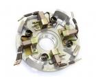 Щеточный узел в сборе для электромоторов лебедок Стократ серии SD с асинхронным электродвигателем