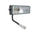 Комплект фар дальнего света (2 фары с лампами и проводами) Wesem 3HMz 48х120 мм.