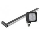 Мачта для установки на калитку OJ дополнительной фары в комплекте с фарой рабочего света Wesem 5LKr.