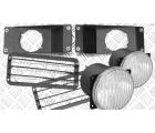 Комплект кронштейнов дополнительных фар с защитными решётками и ПТФ