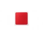Световозвращатель красный 50х50 на самоклеящейся основе