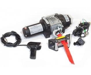 Лебедка электрическая для ATV СТОКРАТ QX 4.0 12V 1.6 л.с.
