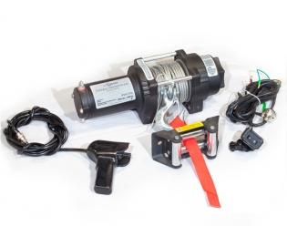Лебедка электрическая для ATV СТОКРАТ QX 3.0 12V 1.5 л.с.