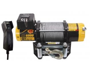 Лебедка электрическая T-MAX ATW-6000 OFF-ROAD Improved 12В
