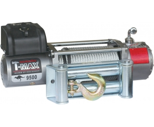 Лебедка автомобильная электрическая T-MAX EW-9500 OFF-ROAD Improved 24В