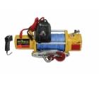 Лебедка T-MAX PEW-9500 Performance с радиоуправлением и синтетическим тросом (короткий барабан)