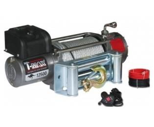 Лебедка автомобильная электрическая T-MAX EW-12500 OFF-ROAD Improved 12В