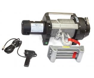 Лебедка электрическая индустриальная СТОКРАТ HD 18.5 WP, 12V, 6.8 л.с.