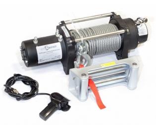Лебедка электрическая автомобильная СТОКРАТ HD 9.5 WP, 12V, 6.0 л.с.
