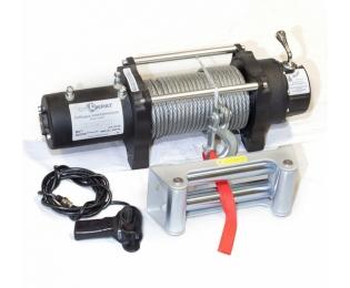 Лебедка электрическая автомобильная высокоскоростная СТОКРАТ HS 8.8 WP, 12V, 6.8 л.с.
