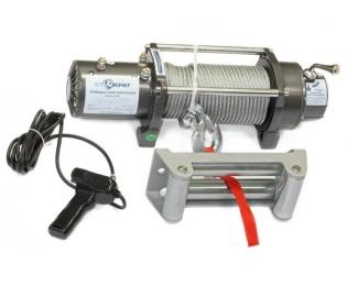 Лебедка электрическая автомобильная СТОКРАТ SD 8.0 SW, 12V, 5.0 л.с.
