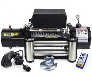 Лебёдка Electric Winch 12000 lbs 24V (влагозащищенная)