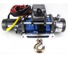 Лебёдка Runva 9500-Q EVO SR с синтетическим тросом Спорт