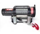 Лебедка Спрут 9000 «Стандарт» 12В с механическим тормозом