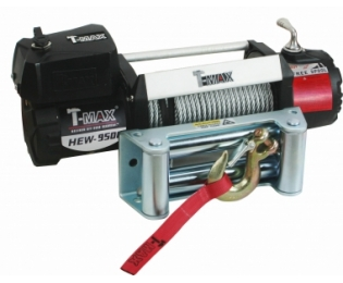 Лебедка автомобильная T-MAX HEW-9500 X-Power