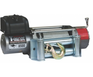 Лебедка автомобильная электрическая T-MAX EW-8500 OFF-ROAD Improved 24В