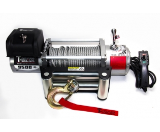 Лебедка автомобильная электрическая T-MAX EW-9500 OFF-ROAD Improved 12В
