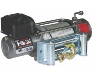 Лебедка автомобильная электрическая T-MAX EW-12500 OFF-ROAD Improved 24В