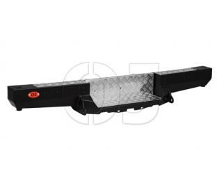 Бампер OJ задний серии Трофи на лифтованную УАЗ Буханка с возможностью установки лебёдки