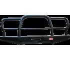 Бампер РИФ передний УАЗ Hunter универсальный усиленный с трубным кенгурином