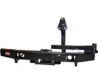 Бампер РИФ задний УАЗ Hunter с площадкой под лебедку и калиткой стандарт