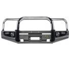 Бампер IRONMAN передний Protector Nissan Patrol Y61 98-04