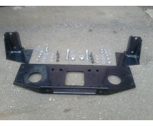 Установочный комплект для скрытой установки лебёдки в штатный бампер Mitsubishi Montero Sport 1996-2008