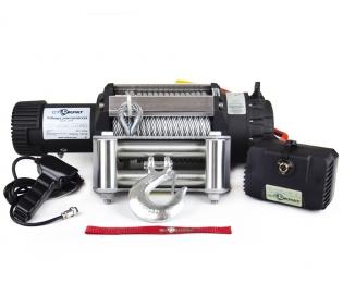 Лебедка электрическая индустриальная СТОКРАТ HD 15.5 WP24, 24В, 6.0 л.с.