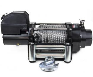 Лебедка электрическая для автомобилей и эвакуаторов Автоспас ЛПЭ81ВИ 24В