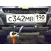 Кронштейн для лебедки в штатный бампер Chevrolet NIVA с упором под домкрат