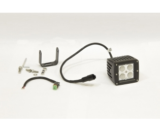 Фара дополнительная светодиодная прямоугольная рабочего света 12 Вт, 45 градусов