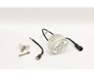 Фара дополнительная светодиодная круглая рабочего света 12 Вт, 60 градусов (белая)