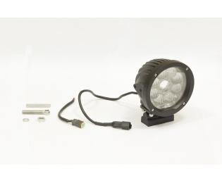 Фара дополнительная светодиодная круглая рабочего света 45 Вт, 90 градусов