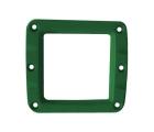 Сменная панель алюминиевая для фар W-Серии, Цвет Зелёный, 1 штука ALO-2CFG