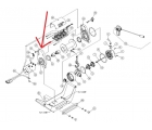 Боковина барабана со стороны мотора для лебедок WARN X8000i, XD9000i